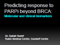 Predicitng-the-response-to-PARPi-beyond-BRCA-Dr-Daliah-Tsoref